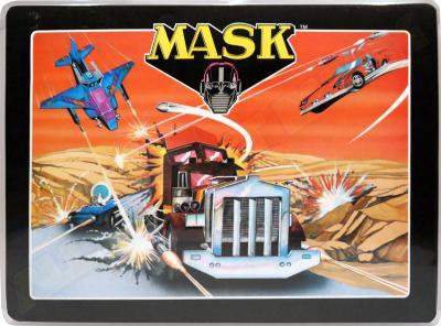 M.A.S.K. Underlay dining table Thunderhawk, Rhino & Switchblade