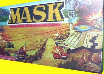 M.A.S.K. M.A.S.K. Boardame Spain