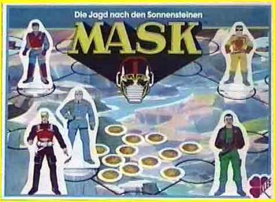 M.A.S.K. M.A.S.K. Boardame Germany