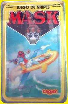 M.A.S.K. M.A.S.K. Card game spanish