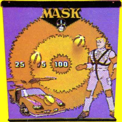 M.A.S.K. M.A.S.K. Throwing game