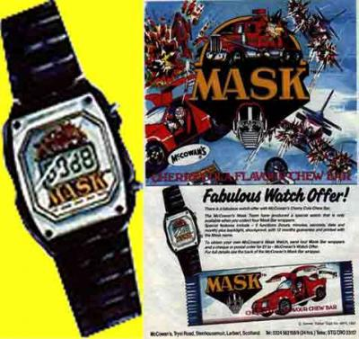 M.A.S.K. M.A.S.K. Watch from a sweepstakesn