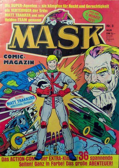 M.A.S.K. M.A.S.K. German comic no. 03