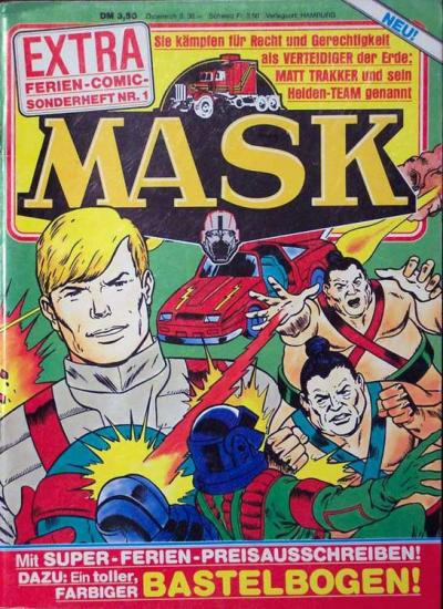 M.A.S.K. M.A.S.K. German holiday special comic no. 1