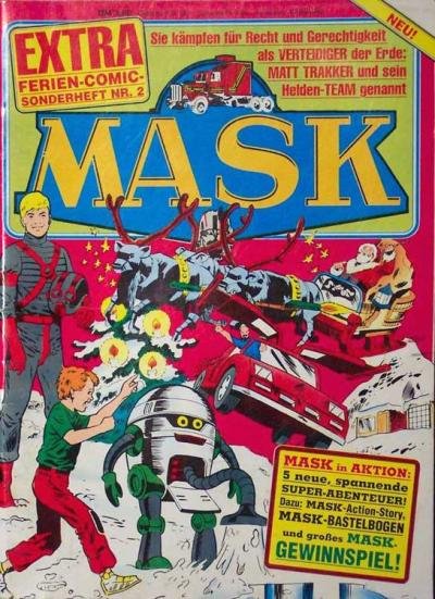 M.A.S.K. M.A.S.K. German holiday special comic no. 2