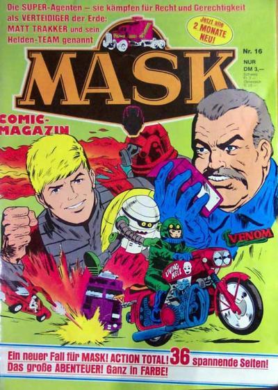 M.A.S.K. M.A.S.K. German comic no. 16
