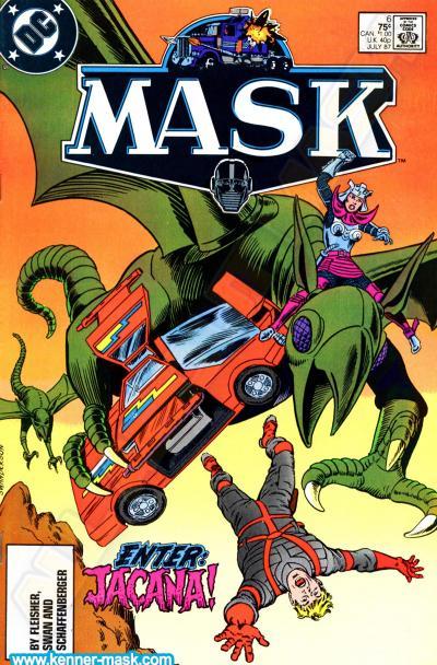 M.A.S.K. M.A.S.K. DC comic 1987 #6/9 Jacana's Revenge