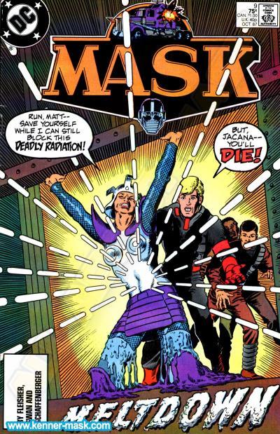 M.A.S.K. M.A.S.K. DC comic 1987 #9/9 Meltdown