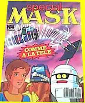 M.A.S.K. M.A.S.K. France special comic no. 4