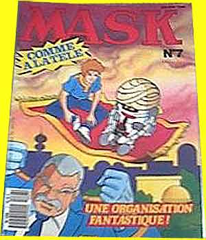 M.A.S.K. M.A.S.K. France comic no. 7