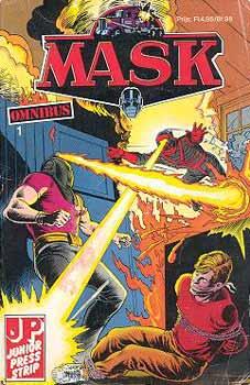 M.A.S.K. M.A.S.K. Junior Press Strip France comic no. 1