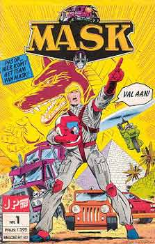 M.A.S.K. M.A.S.K. Junior Press Strip Netherlands comic no. 1