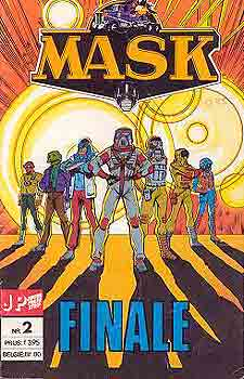 M.A.S.K. M.A.S.K. Junior Press Strip Netherlands comic no. 2