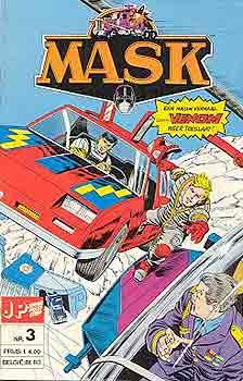 M.A.S.K. M.A.S.K. Junior Press Strip Netherlands comic no. 3