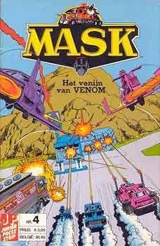 M.A.S.K. M.A.S.K. Junior Press Strip Netherlands comic no. 4