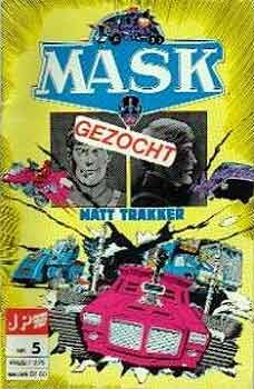 M.A.S.K. M.A.S.K. Junior Press Strip Netherlands comic no. 5