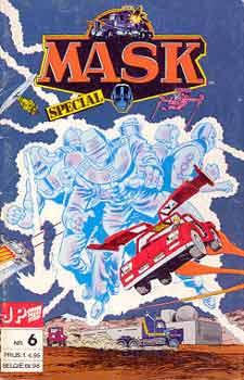 M.A.S.K. M.A.S.K. Junior Press Strip Netherlands comic no. 6