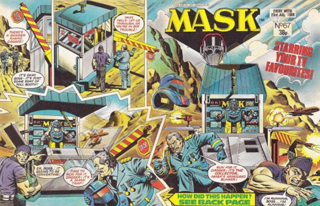 M.A.S.K. M.A.S.K. UK comic No. 67 - 23/07/1988