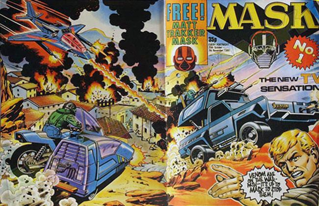 M.A.S.K. M.A.S.K. UK comic No. 01 - 25/10/1986