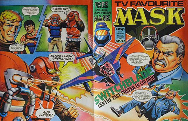 M.A.S.K. M.A.S.K. UK comic No. 02 - 08/12/1986