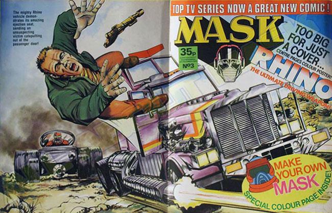 M.A.S.K. M.A.S.K. UK comic No. 03 - 22/11/1986