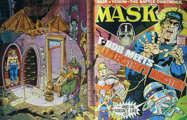 M.A.S.K. M.A.S.K. UK comic No. 07 - 17/01/1987