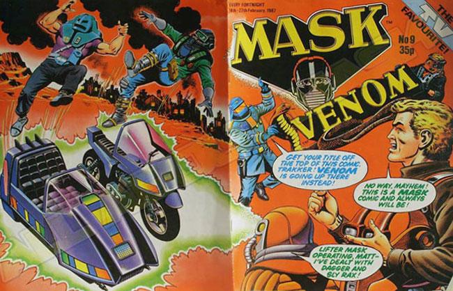 M.A.S.K. M.A.S.K. UK comic No. 09 - 14/02/1987