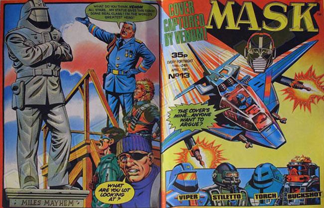 M.A.S.K. M.A.S.K. UK comic No. 13 - 11/04/1987