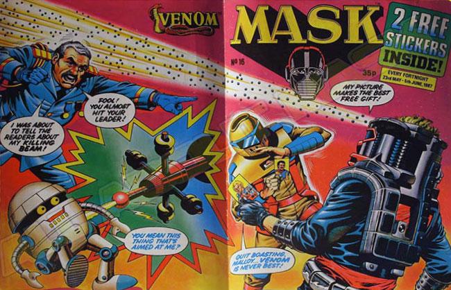 M.A.S.K. M.A.S.K. UK comic No. 16 - 23/05/1987