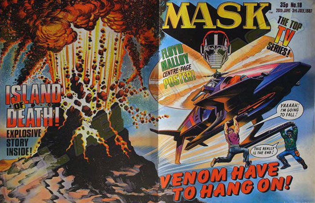 M.A.S.K. M.A.S.K. UK comic No. 18 - 20/06/1987