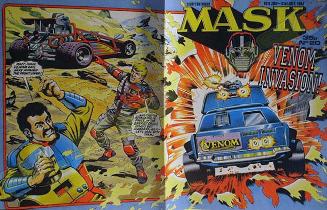 M.A.S.K. M.A.S.K. UK comic No. 20 - 18/07/1987