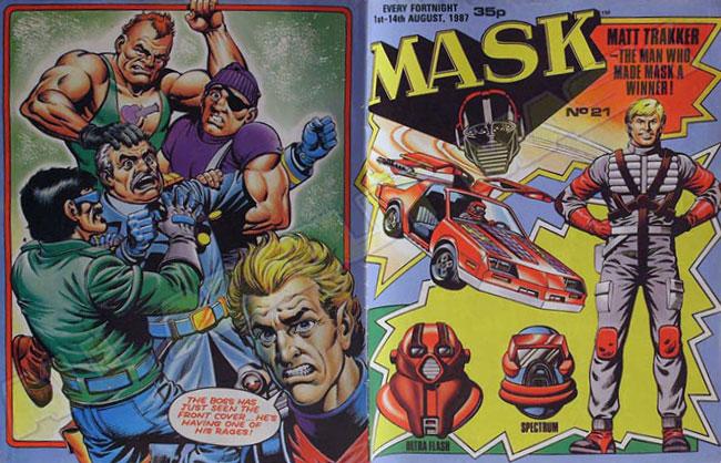 M.A.S.K. M.A.S.K. UK comic No. 21 - 01/08/1987
