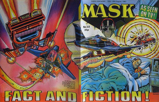 M.A.S.K. M.A.S.K. UK comic No. 22 - 15/08/1987