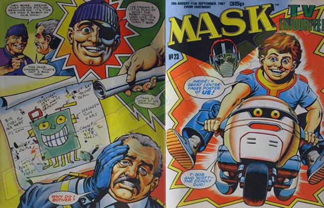 M.A.S.K. M.A.S.K. UK comic No. 23 - 29/08/1987