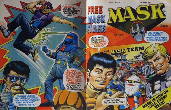 M.A.S.K. M.A.S.K. UK comic No. 27 - 17/10/1987