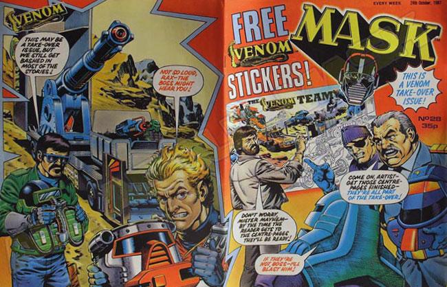 M.A.S.K. M.A.S.K. UK comic No. 28 - 24/10/1987