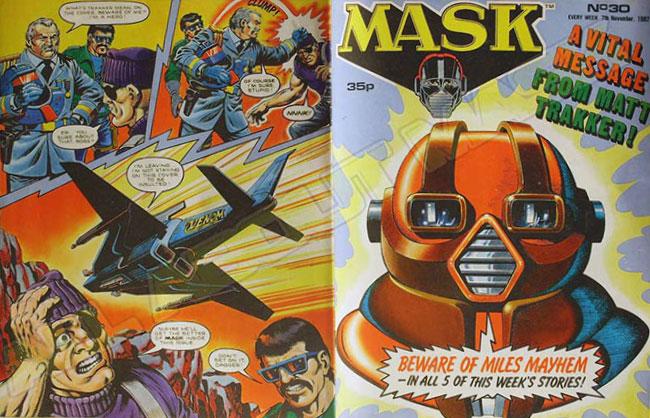M.A.S.K. M.A.S.K. UK comic No. 30 - 07/11/1987