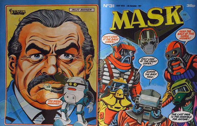 M.A.S.K. M.A.S.K. UK comic No. 31 - 14/11/1987