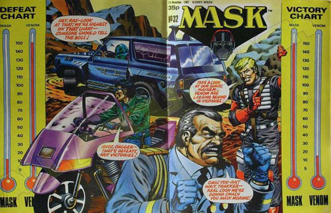 M.A.S.K. M.A.S.K. UK comic No. 32 - 21/11/1987