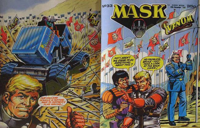M.A.S.K. M.A.S.K. UK comic No. 33 - 28/11/1987