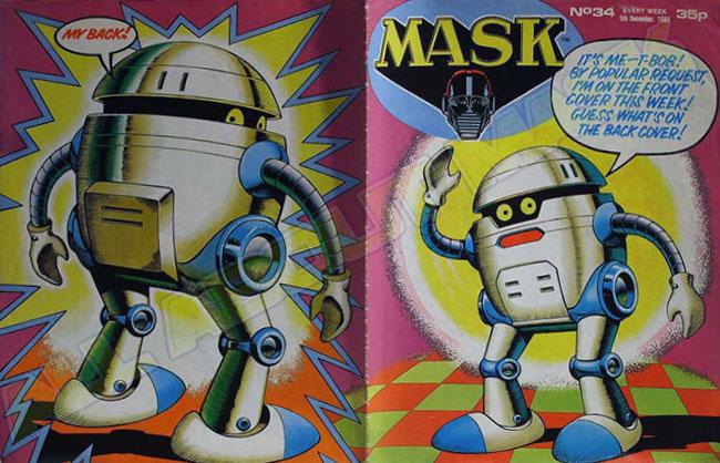 M.A.S.K. M.A.S.K. UK comic No. 34 - 05/12/1987