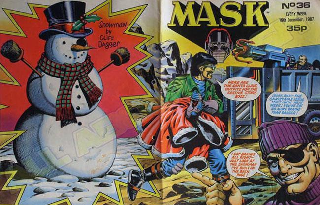 M.A.S.K. M.A.S.K. UK comic No. 36 - 19/12/1987