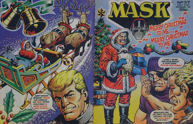 M.A.S.K. M.A.S.K. UK comic No. 37 - 26/12/1987
