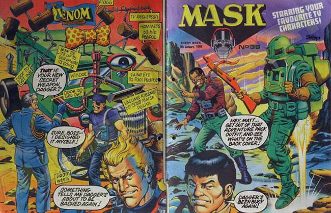 M.A.S.K. M.A.S.K. UK comic No. 39 - 09/01/1988
