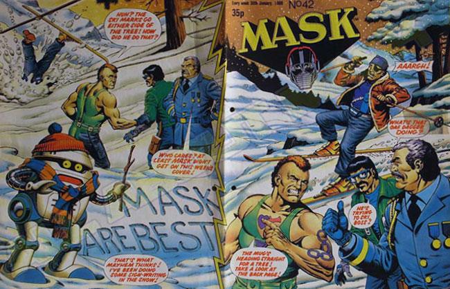 M.A.S.K. M.A.S.K. UK comic No. 42 - 30/01/1988