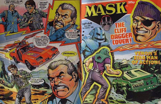 M.A.S.K. M.A.S.K. UK comic No. 44 - 13/02/1988