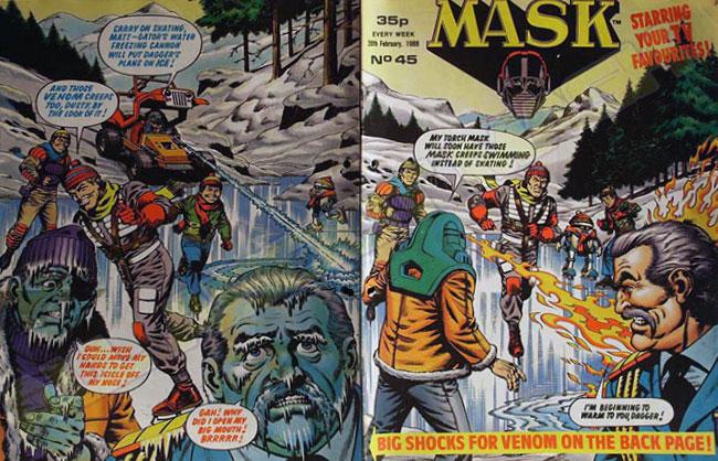 M.A.S.K. M.A.S.K. UK comic No. 45 - 20/02/1988