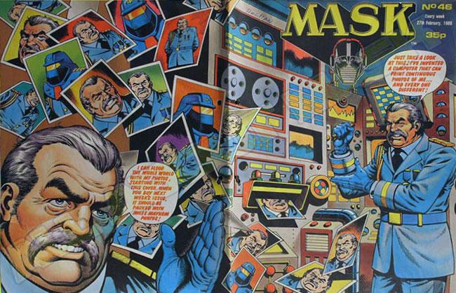 M.A.S.K. M.A.S.K. UK comic No. 46 - 27/02/1988