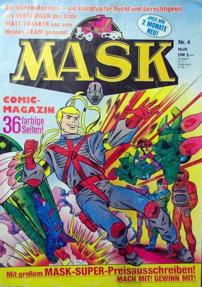 M.A.S.K. M.A.S.K. German comic no. 04