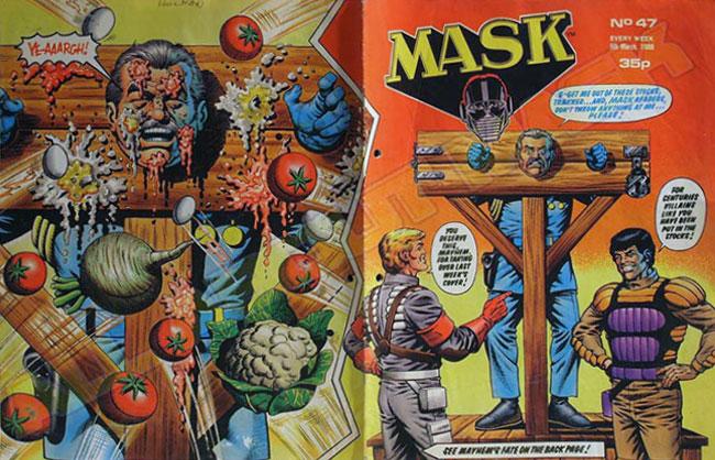 M.A.S.K. M.A.S.K. UK comic No. 47 - 05/06/1988